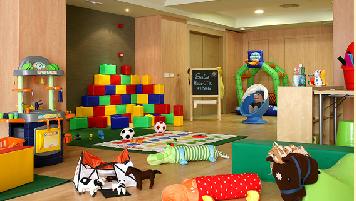 Sala de juegos Hotel T3 Tirol Madrid, Hotel para niños