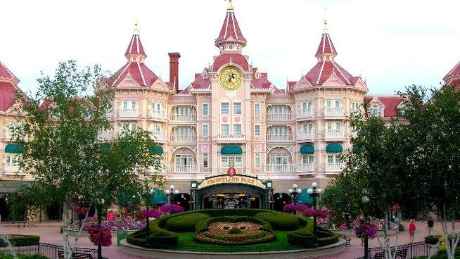 Hoteles para ir con niños Disneyland