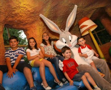 Parque Warner Casita Bugs Bunny