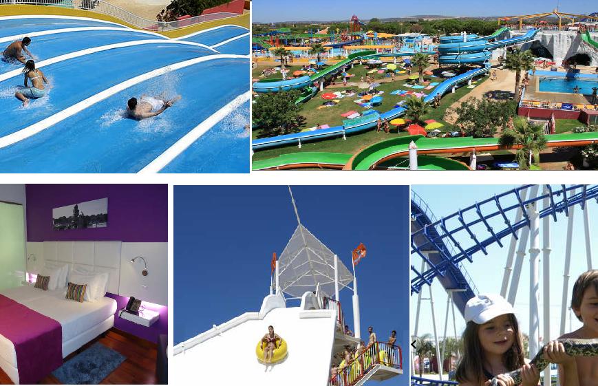 Viajar con niños Hotel Aquashow Park